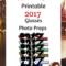 Printable 2017 New Years Eve Glasses