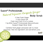 Suave Professionals Body Care Body Scrub