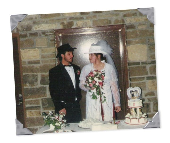 I got married! 13 years ago today!