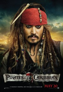 POTC4 DomBusShltr Jack RGB 205x300 Giveaway, Trailer & Fun Facts! PIRATES OF THE CARIBBEAN: ON STRANGER TIDES sails into theatres everywhere on May 20th! movie trailer Giveaway