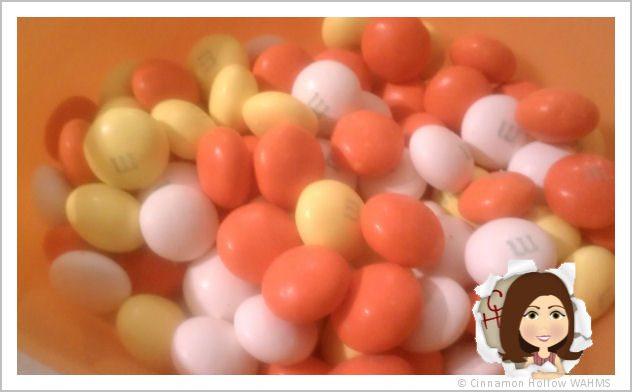 White Chocolate Candy Corn M&M's