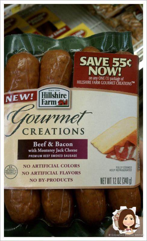 Hillshire Farm Gourmet Creations Sausage