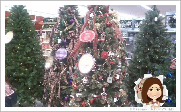 Finding the perfect Christmas tree. #KmartHoliday Shop. #cbias