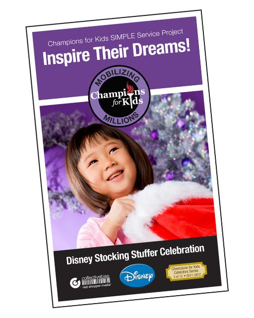 Give a child a joyful Christmas. Champions for Kids. #CBias, #DisneyCFK