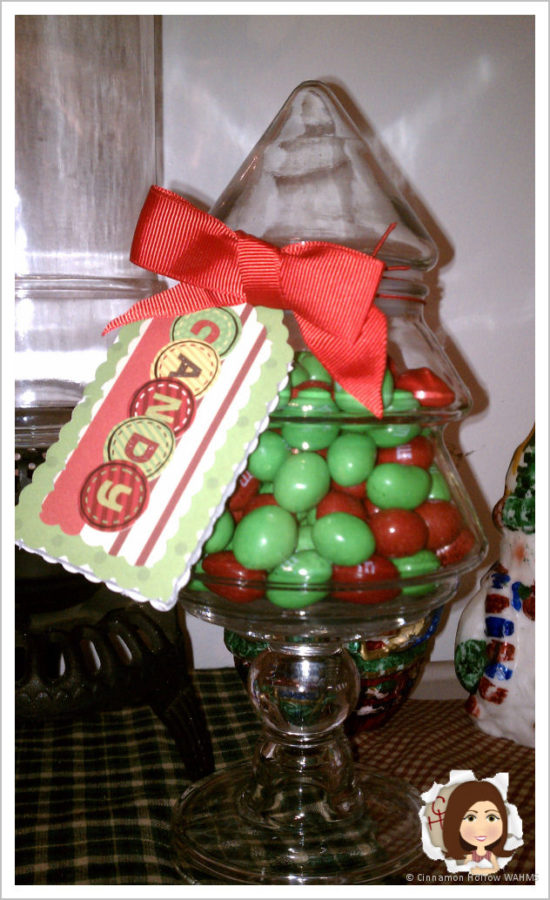 Frugal Holiday Crafts with Elmer's Holiday #GlueNGlitter – DIY Apothecary Jars and Hang Tags