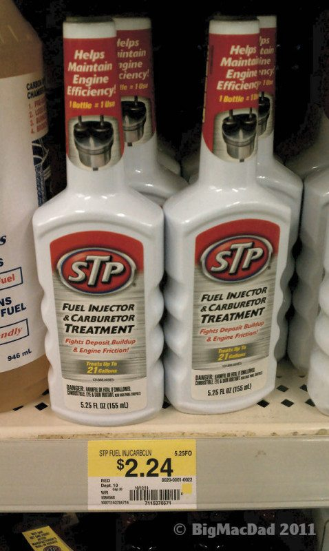 STP Motor Oil Fuel Additive