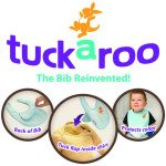Tuckaroo Bib Review and Mompact Giveaway