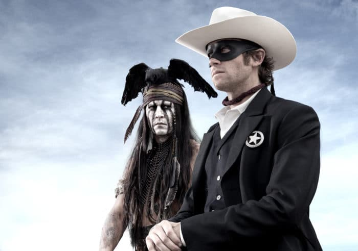 Johnny Depp – THE LONE RANGER – First Look Image!
