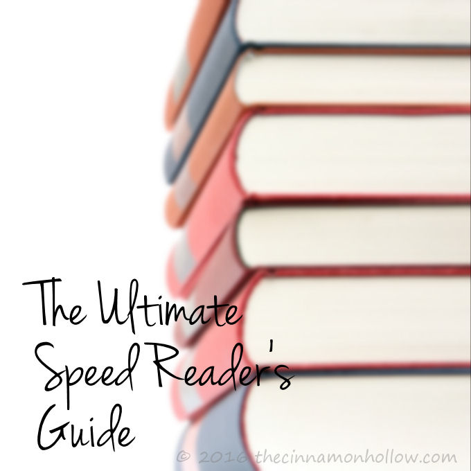 The Ultimate Speed Reader's Guide