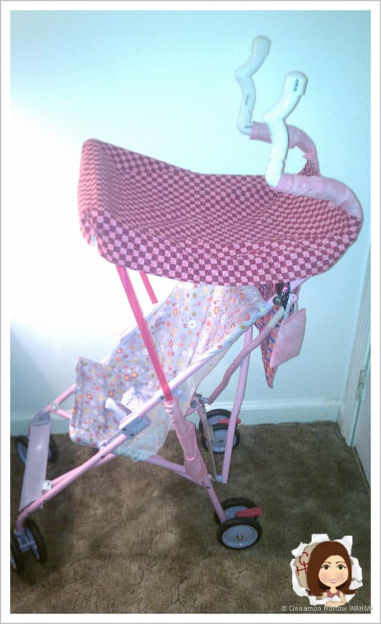My Jimmy-Rigged Diva Stroller! Turn something unhandy into something fabulous!