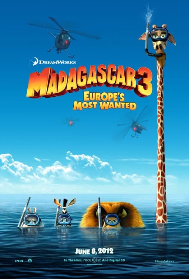 Madagascar 3 and Children's Claritin #childrensclaritinparty!