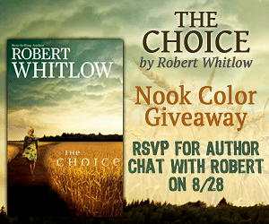 Enter to Win a Nook Color from Robert Whitlow and RSVP for 8/28 Facebook Party!