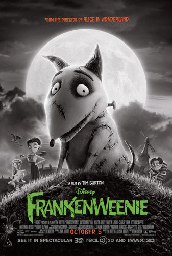 Check Out These Fun Frankenweenie Memory Cards