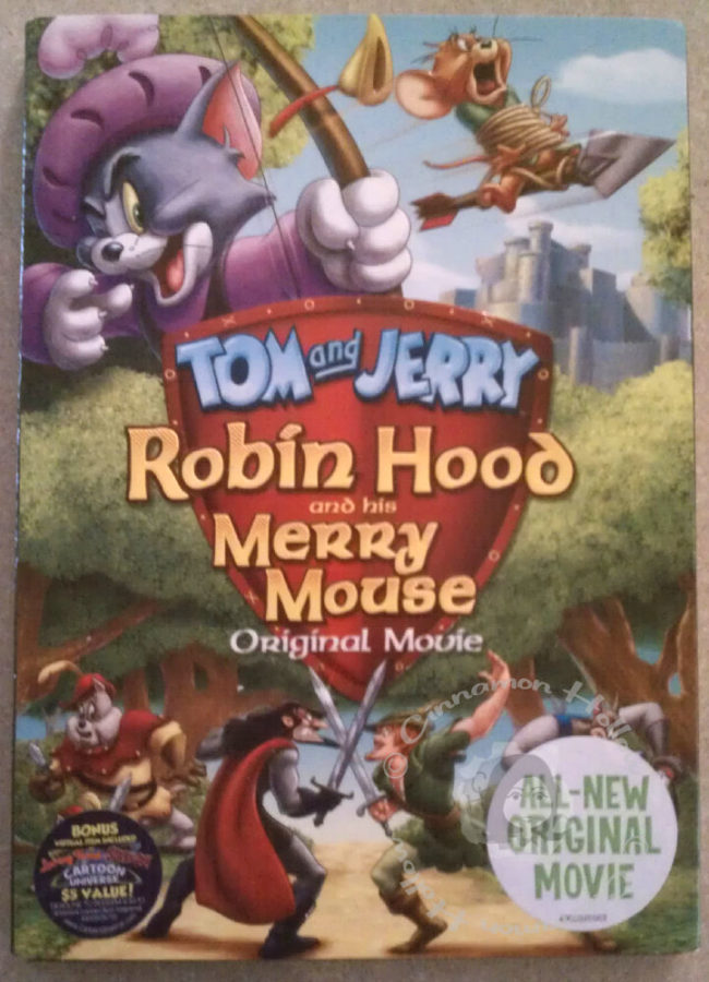 Pump It Up & Tom and Jerry: Robin Hood and His Merry Mouse DVD Giveaway
