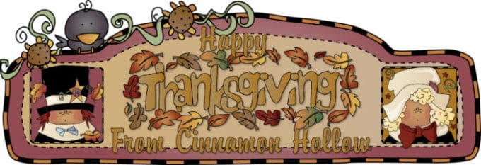 Happy Thanksgiving From Cinnamon Hollow
