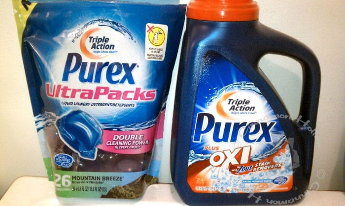 Doing Laundry With New Purex Plus Oxi #PurexInsiders