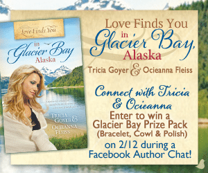 "Win a ""Glacier Bay"" Prize pack from Tricia Goyer and Ocieanna Fleiss"