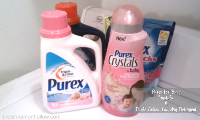 Purex Crystals For Baby Review With Giveaway
