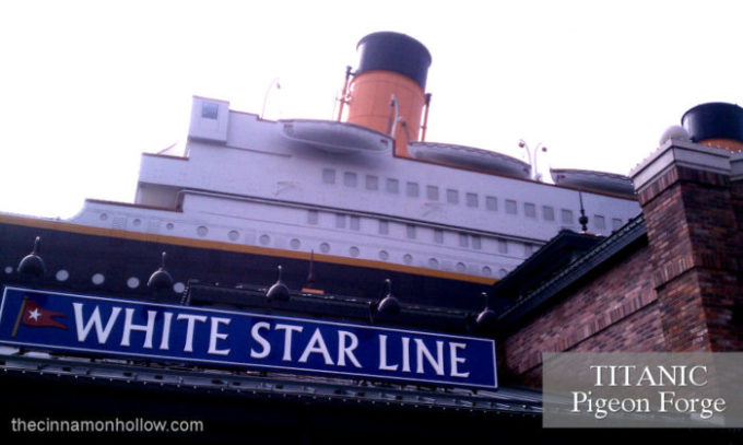 Our Fall Visit To Titanic Pigeon Forge. Slideshow Included.