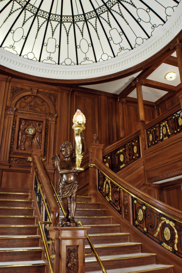 Titanic Pigeon Forge Grand Staircase