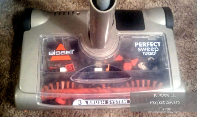 Bissell Perfect Sweep Turbo. Sweep Up Those Tiny LEGO Blocks!