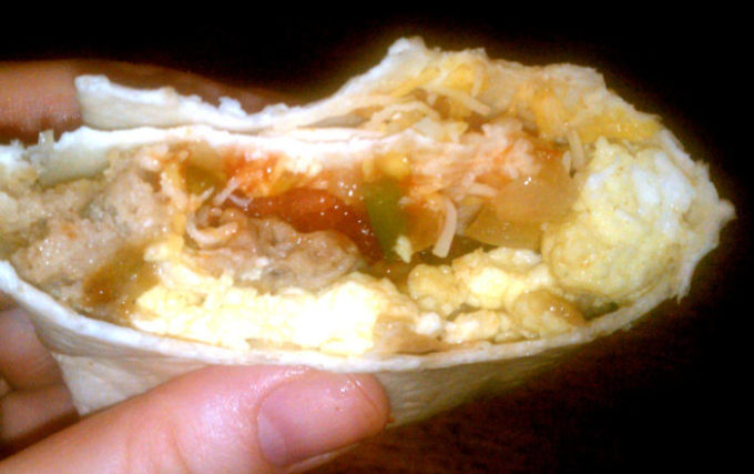 Easy Homemade Breakfast Burritos With Tyson Fully Cooked Sausage. Recipe Included!