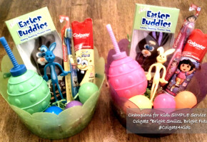 Champions For Kids #Colgate4Kids Easter Basket