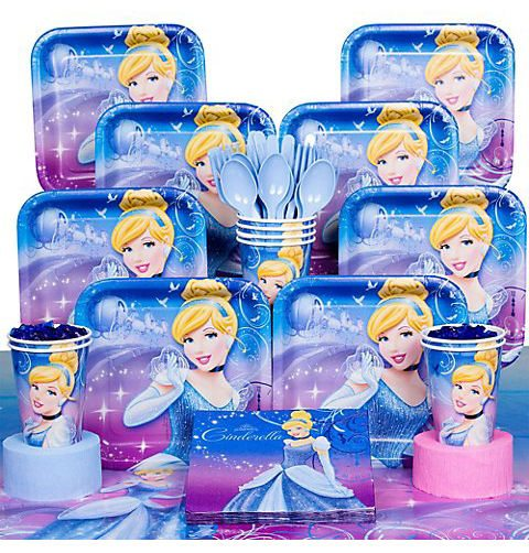 Birthday In A Box Cinderella Deluxe Kit