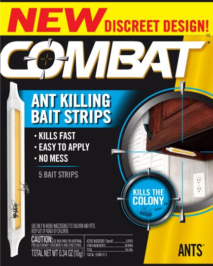 Combat Ant Killing Bait Strips Review And Giveaway!