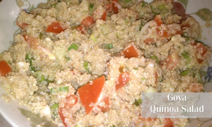 Quinoa Salad With Goya Brand Products. Recipe Included!