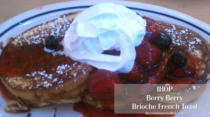 IHOP Berry Berry Brioche French Toast