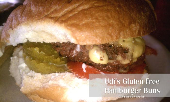 Udis Gluten Free Hamburger Buns