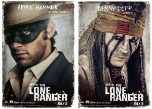 6 New Character Posters For THE LONE RANGER #TheLoneRanger