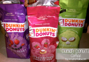 Dunkin Donuts Coffee Seasonal Flavors