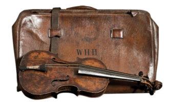 Titanic Hartley Violin