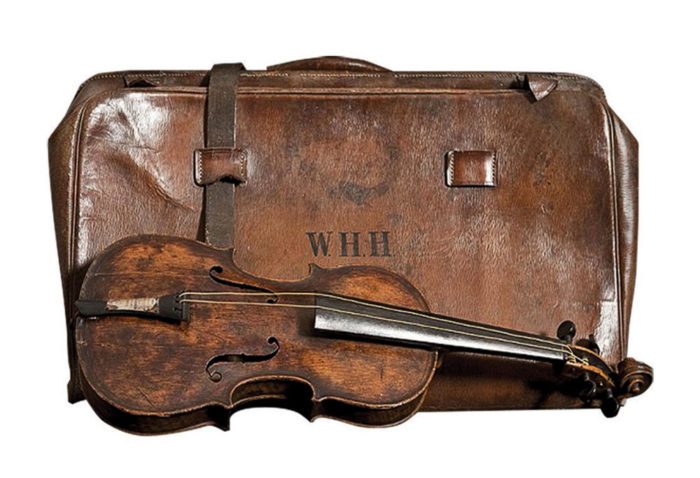 Titanic Hartley Violin