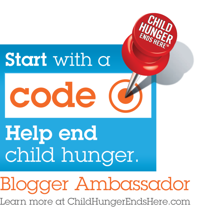 Child Hunger Ends Here Blogger Badge