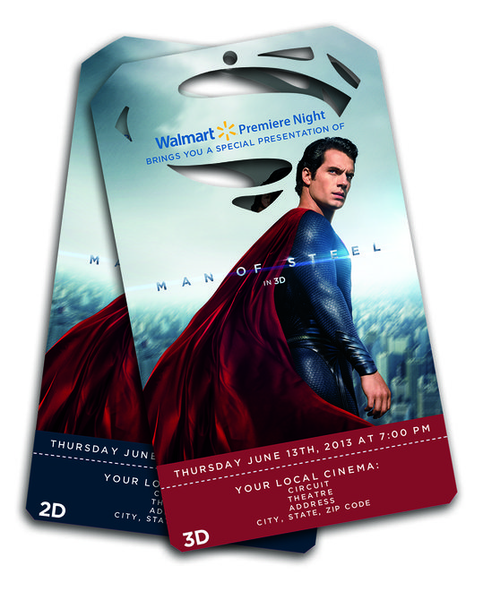 Man Of Steel Ticket Image
