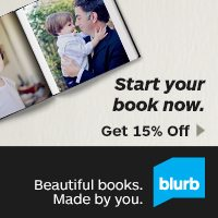 Sale:15% Off Blurb Books