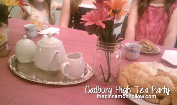 Blue Bunny Cadbury High Tea Ice Cream Party!