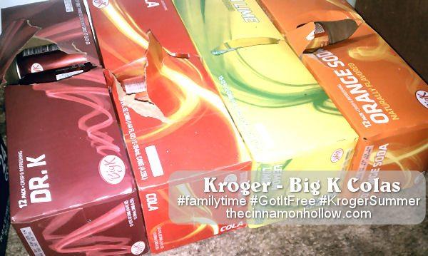 Kroger Big K Colas #krogersummer #gotitfree