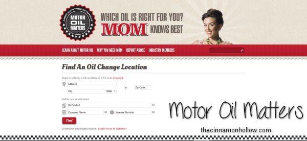 Motor Oil Matters