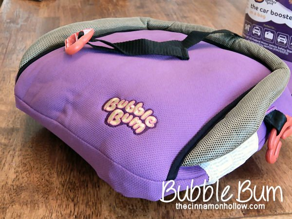 BubbleBum Portable Car Booster Seat @bubblebumukltd