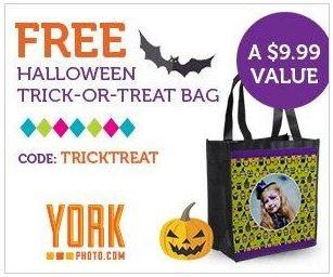 Free Halloween Trick Or Treat Tote Bag!