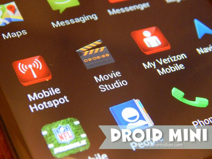 DROID MINI App Drawer