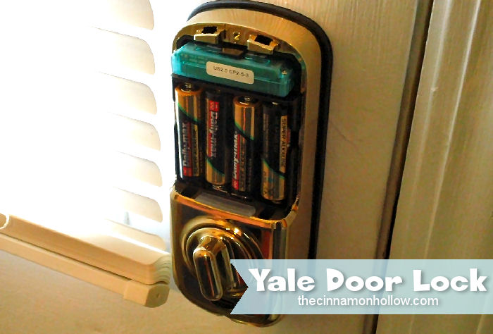 Yale Door Lock Batteries
