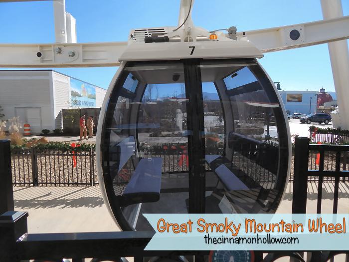 Great Smoky Mountain Wheel Gondola