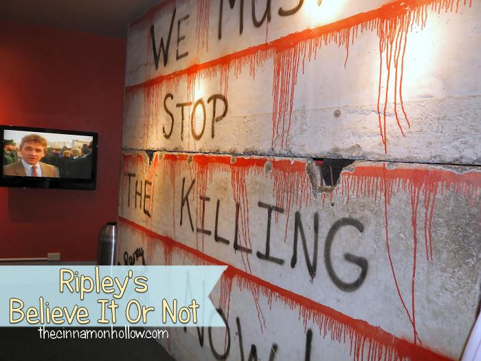 Ripleys Believe It Or Not Berlin Wall