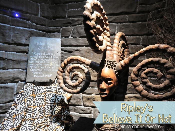 Ripley's Believe It Or Not Skin Mask