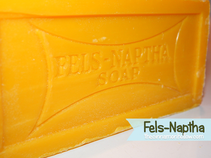 Fels Naptha: Laundry Soap Recipe
